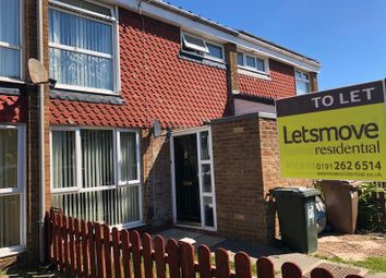 Thumbnail 3 bed terraced house to rent in Barr Close, Wallsend