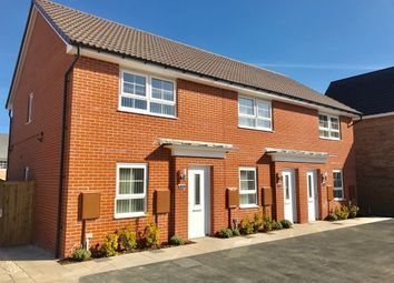 Thumbnail 2 bed end terrace house to rent in 3 Azure Place, Gateford, Worksop