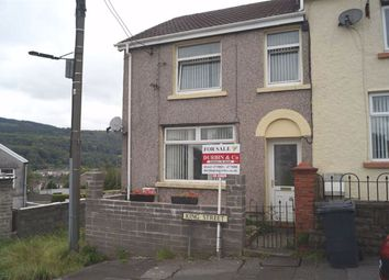 Thumbnail 2 bed end terrace house for sale in King Street, Abercynon, Mountain Ash