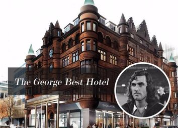 Thumbnail 1 bed flat for sale in The George Best Hotel, Belfast