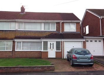 Thumbnail 4 bed semi-detached house for sale in Grasmere Road, Chester Le Street
