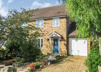 Thumbnail 3 bed semi-detached house for sale in Fields Road, Wootton, Bedford