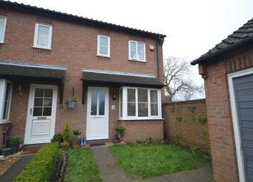 Thumbnail 2 bed semi-detached house for sale in Dunch Crescent, Hemblington, Norwich, Norfolk