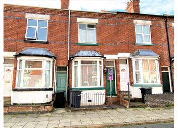 Thumbnail 2 bed terraced house for sale in Dunster Street, Leicester