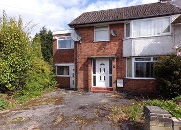 Thumbnail 4 bed semi-detached house for sale in Patterdale Road, Woodley, Stockport, Cheshire