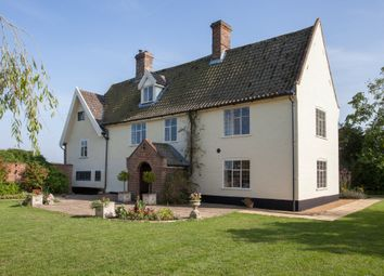 Thumbnail 6 bed farmhouse for sale in Stockton, Beccles, Norfolk