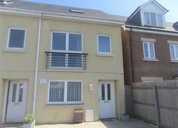 Thumbnail 3 bed town house to rent in Tudor Close, Newton Abbot, Devon.