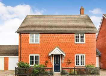 Thumbnail 4 bed detached house for sale in Battalion Way, Thatcham