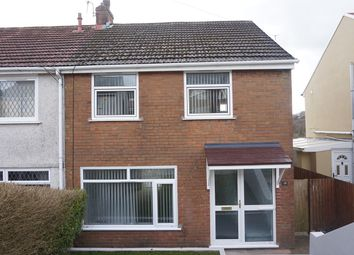 Thumbnail 3 bedroom semi-detached house for sale in Prince Andrew Road, Pentwyn Crumlin, Newport