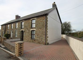 Thumbnail 2 bed end terrace house for sale in Dihewyd, Lampeter