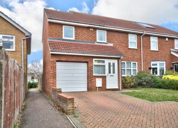 Thumbnail 4 bed semi-detached house for sale in Queens Gardens, St. Neots, Cambridgeshire