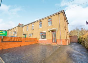 Thumbnail 3 bed semi-detached house for sale in Ty Pwca Road, Pontnewydd, Cwmbran