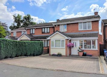 Thumbnail 3 bed detached house for sale in Cowley Close, Penkridge, Stafford
