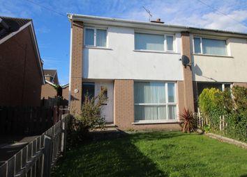 Thumbnail 3 bedroom semi-detached house for sale in Tern Crescent, Carrickfergus