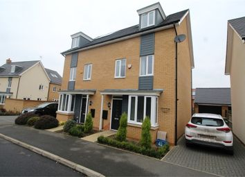 Thumbnail 4 bedroom semi-detached house for sale in Wilkinson Crescent, Wolverton, Milton Keynes, Buckinghamshire