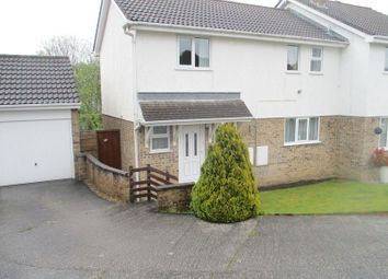 Thumbnail Semi-detached house for sale in Park Way, St. Austell