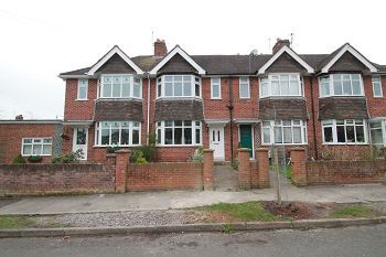 Thumbnail 3 bed terraced house to rent in 32 Luxfield Road, Warminster