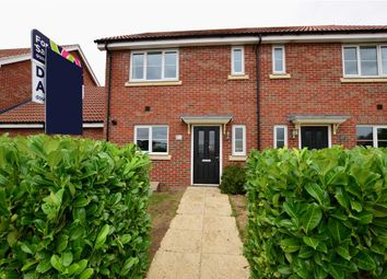 Thumbnail 3 bed semi-detached house for sale in Markhams Chase, Basildon, Essex