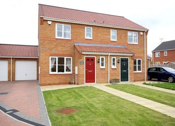 Thumbnail 3 bed semi-detached house for sale in Bourne Close, Sleaford, Lincolnshire