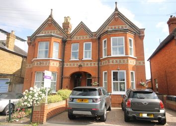 Thumbnail 5 bed semi-detached house for sale in Grange Road, Egham, Surrey