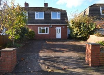 Thumbnail 3 bed semi-detached house to rent in Butts Road, Heavitree, Exeter
