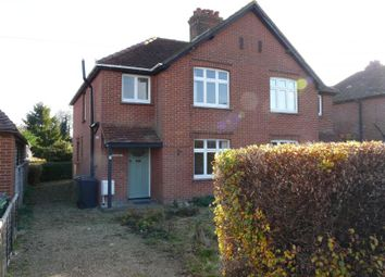 Thumbnail 3 bed semi-detached house for sale in Priory Road, Hungerford