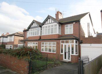 Thumbnail 3 bedroom property to rent in Hartside Gardens, Jesmond, Newcastle Upon Tyne