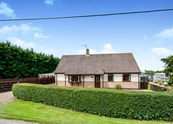 Thumbnail 3 bed detached bungalow for sale in The Drove, Barroway Drove, Downham Market
