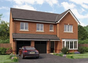 "Thumbnail 5 bed detached house for sale in ""Buttermere"" at Jack Lane, Moulton, Northwich"
