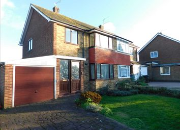 Thumbnail 3 bed semi-detached house to rent in Ariel Close, Gravesend