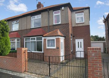 Thumbnail 4 bed semi-detached house for sale in High Pit Road, Cramlington