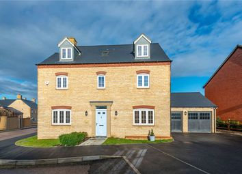Thumbnail 5 bedroom detached house for sale in Meadowsweet Way, Wootton, Northampton