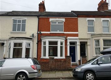 Thumbnail 3 bed terraced house to rent in Cecil Road, Northampton, Northamptonshire