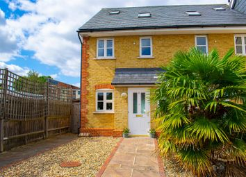 Thumbnail 4 bed end terrace house for sale in St. James Close, Epsom
