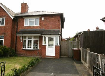 Thumbnail 3 bedroom semi-detached house to rent in Ryle Street, Bloxwich, Walsall