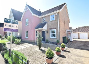Thumbnail 4 bed detached house for sale in Griston Road, Watton, Thetford