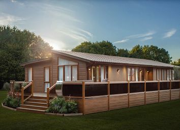 Thumbnail 3 bed lodge for sale in English Drove, Thorney, Peterborough, Cambridgeshire