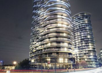 Thumbnail 2 bed flat for sale in Hoola Tower West Tidal Basin Road, London