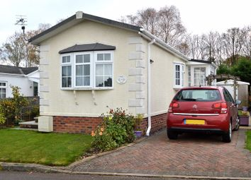 Thumbnail 2 bed mobile/park home for sale in The Oaks, Hillcrest Park, Wythall, Birmingham