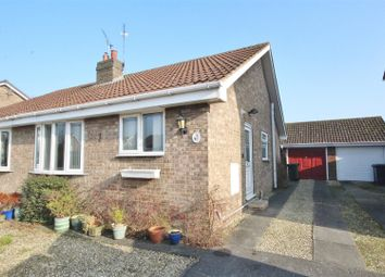 Thumbnail 2 bed semi-detached bungalow for sale in St. Marys Avenue, Hemingbrough, Selby