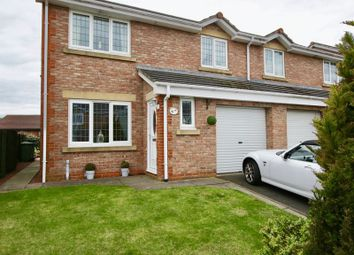 Thumbnail 3 bed semi-detached house for sale in The Close, Amble, Morpeth