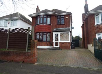 Thumbnail 3 bed detached house for sale in Muscliffe, Bournemouth, Dorset