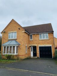 Thumbnail 4 bed detached house to rent in Roecliffe Close, Leicester