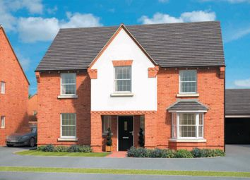 "Thumbnail 4 bed detached house for sale in ""Winstone"" at Bush Heath Lane, Harbury, Leamington Spa"
