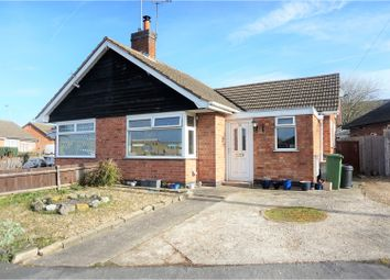 Thumbnail 1 bed bungalow for sale in Brooksby Drive, Oadby