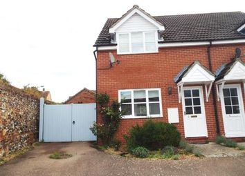 Thumbnail 3 bedroom semi-detached house for sale in Ixworth, Bury St Edmunds, Suffolk