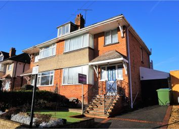 Thumbnail 3 bed semi-detached house for sale in Dale Valley Road, Southampton