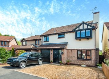 Thumbnail 4 bed detached house for sale in The Oaks, Taunton
