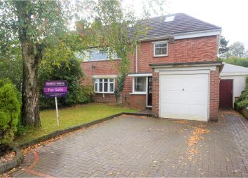 Thumbnail 5 bed semi-detached house for sale in West Rise, Lisvane