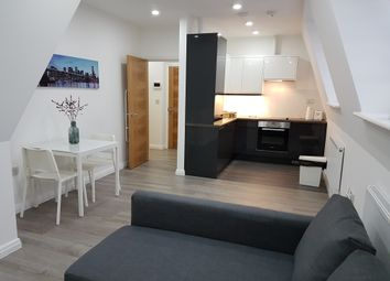 Thumbnail 1 bed flat to rent in Defoe Road, Stoke Newington